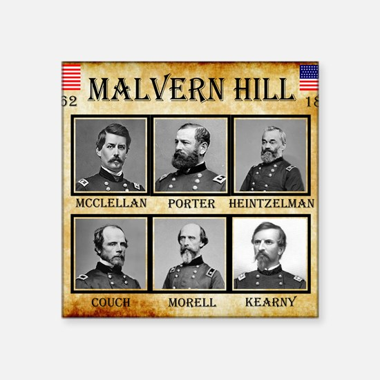 "Malvern Hill - Union Square Sticker 3"" x 3"""