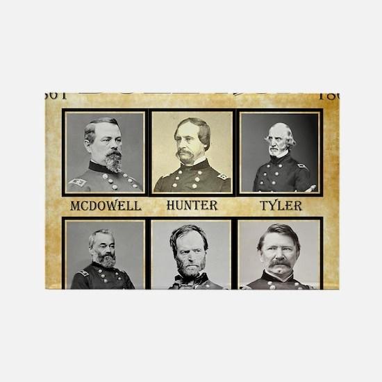 Bull Run (1st) - Union Rectangle Magnet