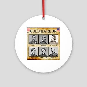 Cold Harbor - Union Round Ornament