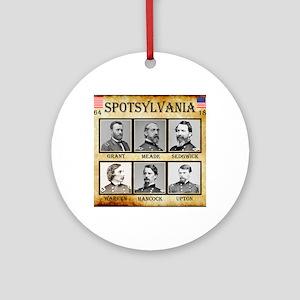 Spotsylvania - Union Round Ornament
