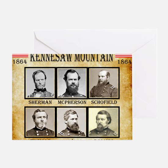 Kennesaw Mountain - Union Greeting Card