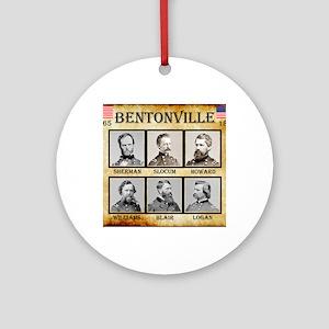 Bentonville - Union Round Ornament