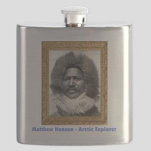 Matthew Henson - Arctic Explorer Flask