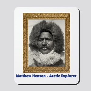 Matthew Henson - Arctic Adventurer Mousepad
