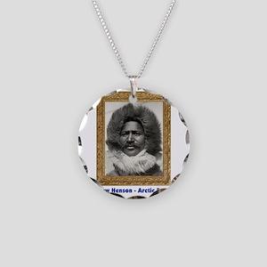 Matthew Henson - Arctic Adve Necklace Circle Charm