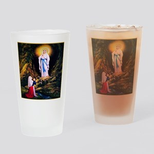 Our Lady of Lourdes 1858 Drinking Glass