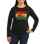 Reggae Women's Long Sleeve Dark T-Shirt