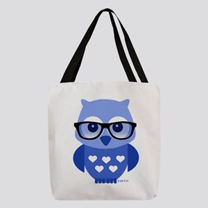 Owl Polyester Tote Bag