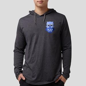 Owl Mens Hooded Shirt