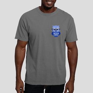 Owl Mens Comfort Colors Shirt
