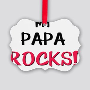 4-3-PAPA Picture Ornament