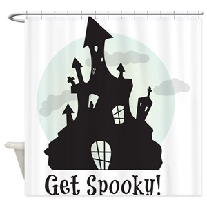Scary Silhouette Shower Curtains