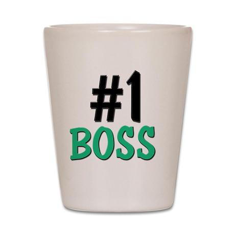 5-4-3-BOSS Shot Glass