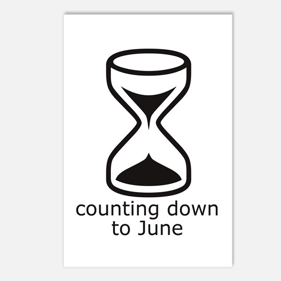 counting down June due date Postcards (8)