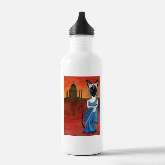 Siamese Queen of India Water Bottle