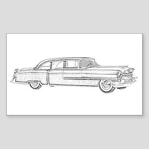 1955 car Sticker (Rectangle)