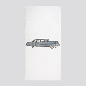 1955 car Beach Towel