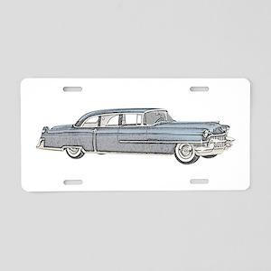 1955 car Aluminum License Plate