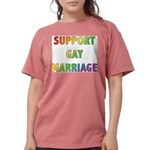 SUPPORT_GAY_MARRIAGE_1 Womens Comfort Colors S