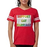 SUPPORT_GAY_MARRIAGE_1 Womens Football Shirt
