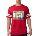 SUPPORT_GAY_MARRIAGE_1 Mens Football Shirt