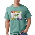 SUPPORT_GAY_MARRIAGE_1 Mens Comfort Colors Shi