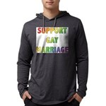 SUPPORT_GAY_MARRIAGE_1 Mens Hooded Shirt