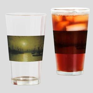 Grimshaws Nightfall Thames Drinking Glass