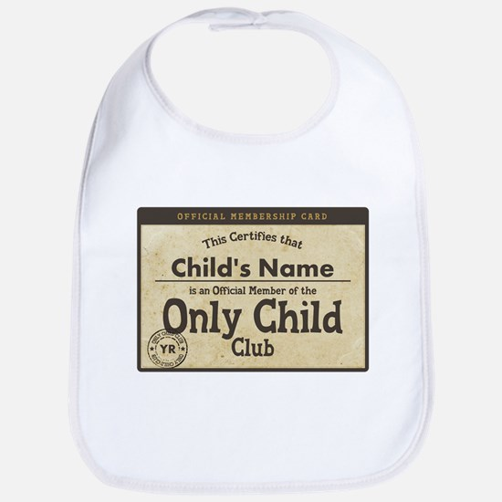 Only Child Club Bib
