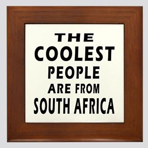 The Coolest South Africa Designs Framed Tile