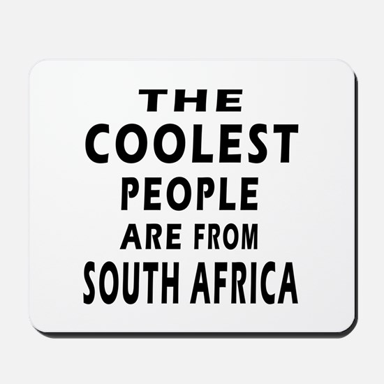 The Coolest South Africa Designs Mousepad