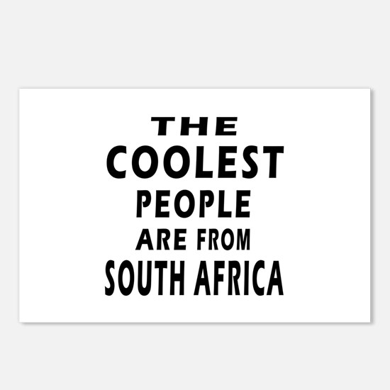 The Coolest South Africa Designs Postcards (Packag