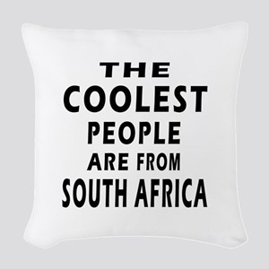 The Coolest South Africa Designs Woven Throw Pillo