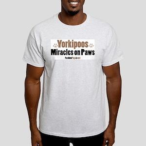 Yorkipoo dog Ash Grey T-Shirt