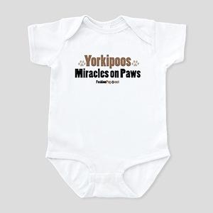 Yorkipoo dog Infant Bodysuit