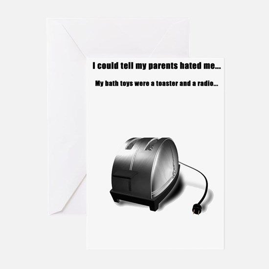 Toaster Greeting Cards (Pk of 10)