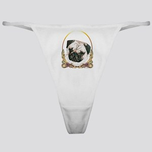 Pug Christmas/Holiday Classic Thong