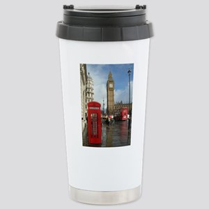 London phone box Travel Mug