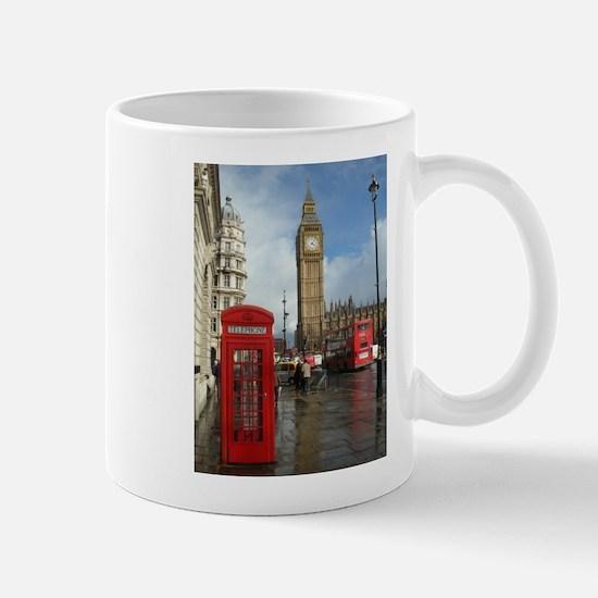 London phone box Mug