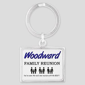 Woodward Landscape Keychain