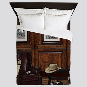 Country Club Queen Duvet