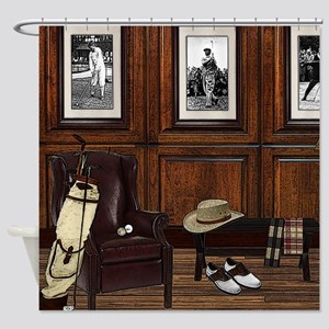 Country Club Shower Curtain
