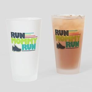 Run Mommy Run - Shoe Drinking Glass