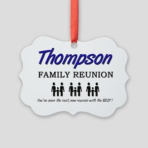 Thompson Picture Ornament