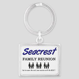 Seacrest Landscape Keychain