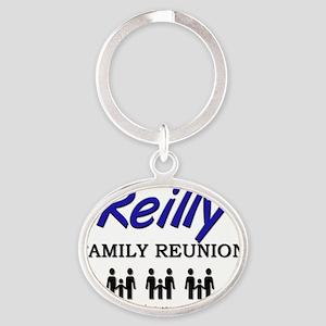 Reilly Oval Keychain
