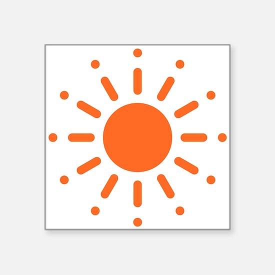 Sun / Soleil / Sol / Sonne / Sole / Zon (Orange) S