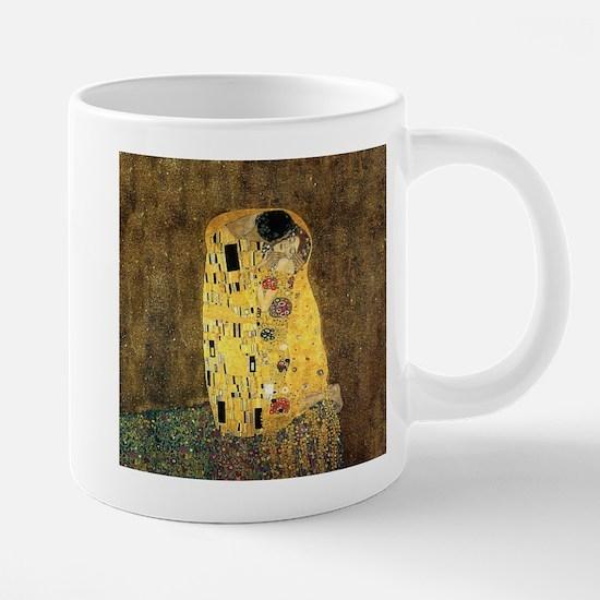 The Kiss 20 oz Ceramic Mega Mug