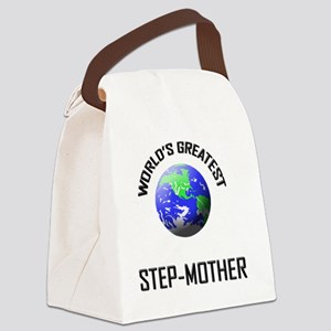 3-STEP-MOTHER Canvas Lunch Bag