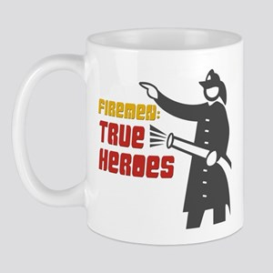 True Heroes Firefighter Mug